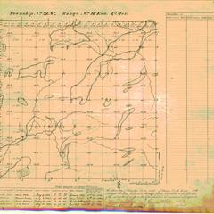 [Public Land Survey System map: Wisconsin Township 21 North, Range 16 East]
