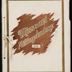 Catalogue and annual announcement of the Missouri Military Academy