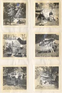 Camp scenes from Chihuahua wilderness, January 1938