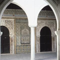 Courtyard for Ablutions, Gurgi Mosque, Built Between 1800-1830