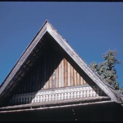 Phetsarath trip : bonzes' quarters--roof detail