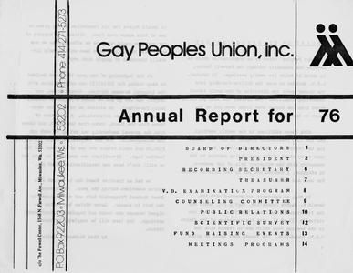 Annual report for 1976