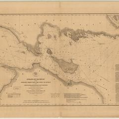 Straights of Mackinac : with the approaches thereto from Lakes Huron and Michigan and the entrance by the detour passage to the St. Mary's River