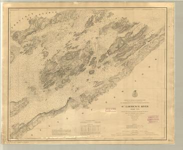 St. Lawrence River chart no. 6