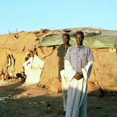 Before the Bulldozer at Khartoum Shanytown for War Refugees from the South