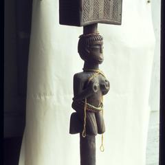 Figure for Shango (Xango) Thundergod of the Nago (Yoruba) Blacks