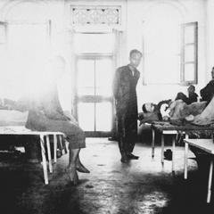 [Ward at the Forman Memorial Hospital in Yeungkong 陽江.]