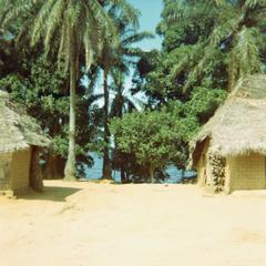 View of Selenge Fishing Village on Lake Mayi Ndomba