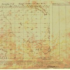 [Public Land Survey System map: Wisconsin Township 07 North, Range 21 East]