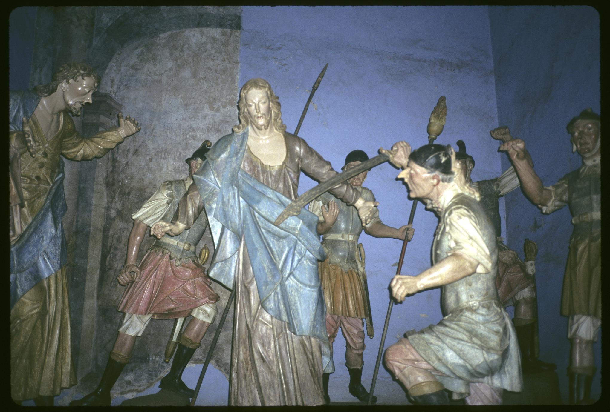 Sculptural group by Aleijandinho, interior Congonhas Basilica (1 of 4)