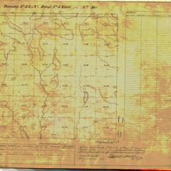 [Public Land Survey System map: Wisconsin Township 33 North, Range 05 East]