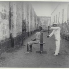 Execution chamber, Intramuros, Manila, 1901