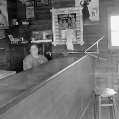 Bessie Gordon at reed organ