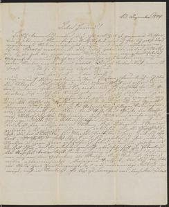 [Letter from Karl to Jakob Sternberger, December 13,1849]