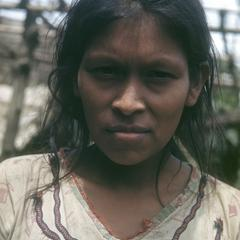 Guatuso Indian woman, Palenque Margarita