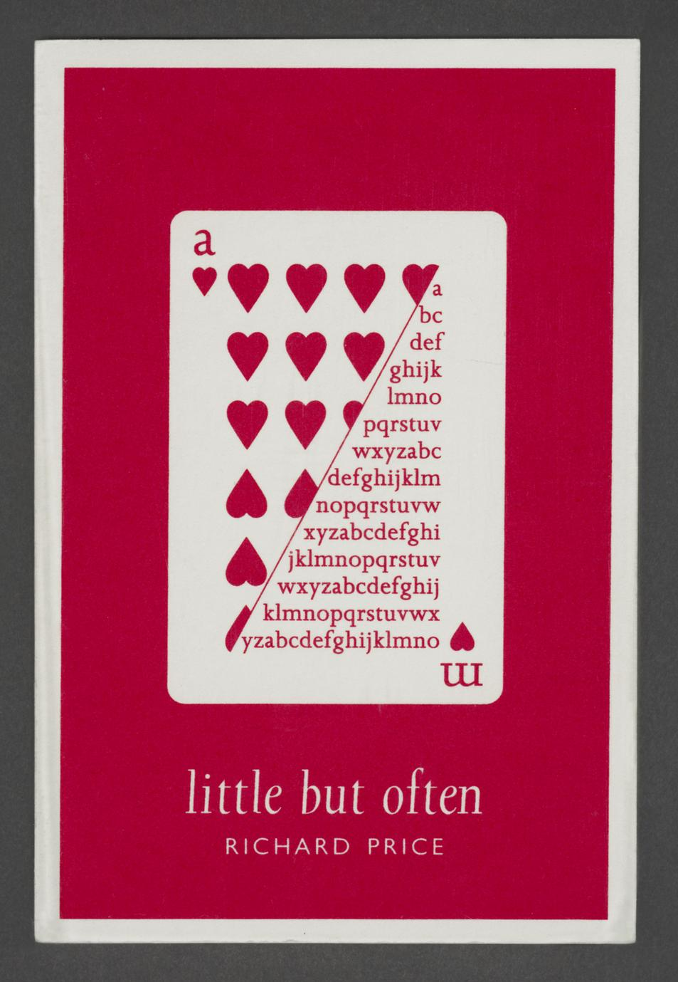 Little but often (1 of 3)