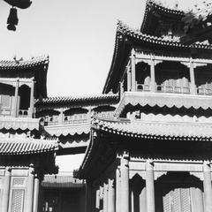 Yonghe Gong (Yonghegong Lamasery) 雍和宫.