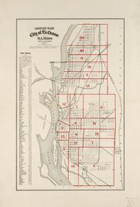 Map of the city of La Crosse