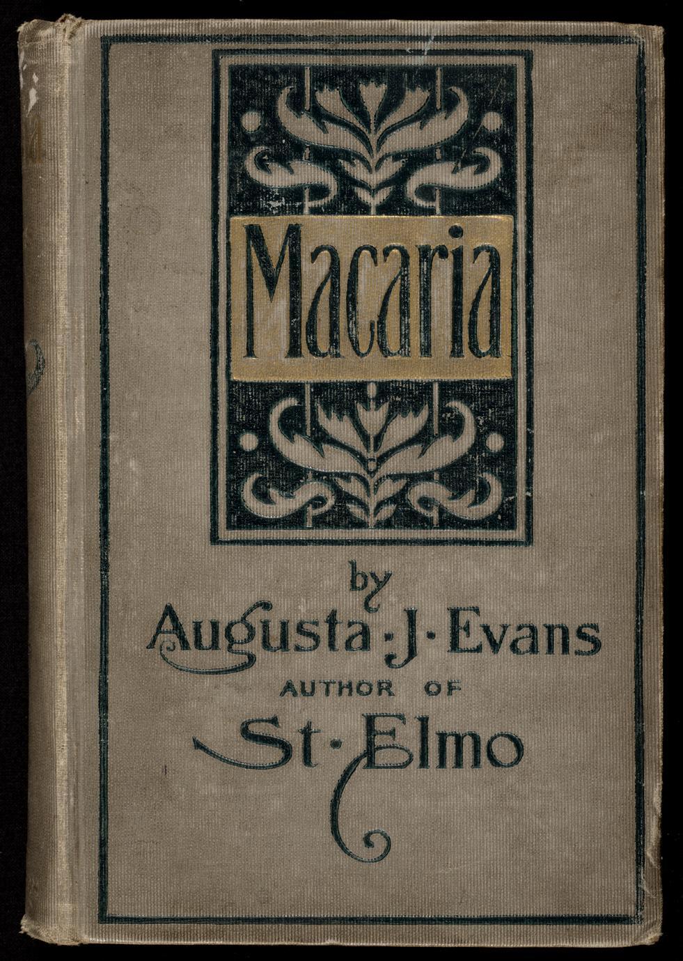 Macaria : a novel (1 of 2)