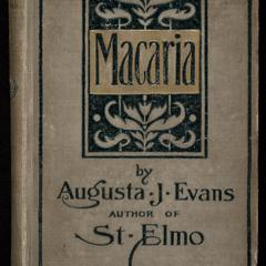 Macaria : a novel