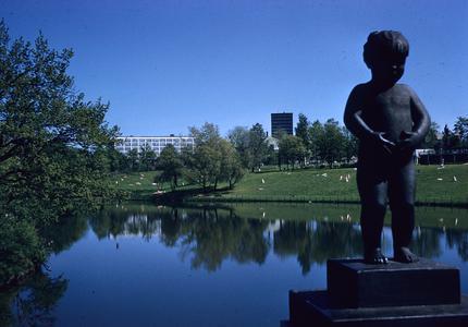 Statue of child