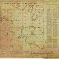 [Public Land Survey System map: Wisconsin Township 41 North, Range 13 West]