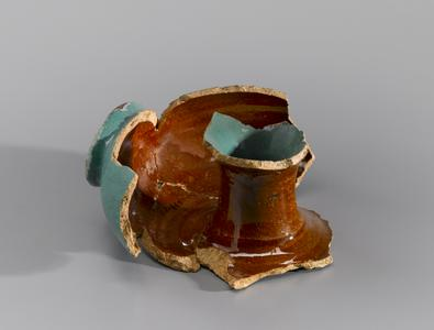 Fragmentary ring bottle
